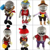 PVZ Zombies Plush Stuffed Toys PVZ 2 Zombies Plush Toy Doll Game for Kids Gifts Party Toys 30cm 6pcsset