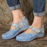 .ndg.dga 2021 Spring and Summer Hollow Flat-Heel Leather Print Ladies Sandals,Ladies Fashion and Comfy Non Slip Sandals Home and Outdoor Sandals