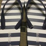 Michael Kors Shoes | Michael Kors Flip Flops | Color: Blue/White | Size: 8