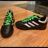 Adidas Shoes   Adidas Soccer Turf Shoes Indoor Soccer Shoes   Color: Black   Size: 3b