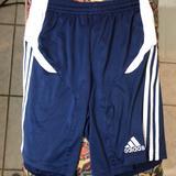 Adidas Bottoms   Children Soccer Shorts   Color: Blue/White   Size: Lb