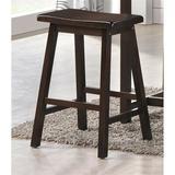 Red Barrel Studio® Counter Height Set (3Pc Pk) In Walnut Wood in Brown, Size 36.0 H x 19.0 W x 43.0 D in   Wayfair E3DB98E3807845F887848C993472178E