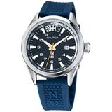 N83 Blue Silicone Strap Watch 40 Mm - Blue - Nautica Watches