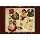 Old European Paper Dress up Dolls
