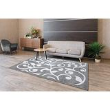 SUSSEXHOME Perfect Soft Area Rugs, Modern Geometric Space Design for Kitchen and Living Room, Gray Rugs, 2x3 Ft. Area Rugs Clearance, Indoor Rug, Rug for Kids Room, Runner Rug, Machine Rug
