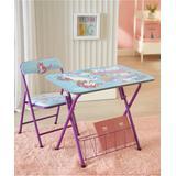 Nickelodeon Girls' Indoor Table Chair Sets Purple - JoJo Siwa Purple & Blue Folding Activity Desk & Chair