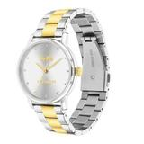 Coach Accessories | Coach Women'S Grand Two-Toned Bracelet Watch | Color: Gold/Silver | Size: 36 Mm