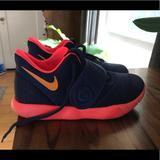 Nike Shoes   Nike Kyrie Irving Basketball Shoes Kids Size 2   Color: Blue/Red   Size: 2bb