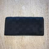 Gucci Bags   Gucci Black Canvas And Leather Wallet   Color: Black   Size: Os