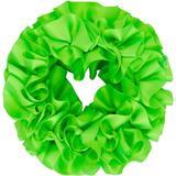 Green Carnation Scrunchie - Green - Maryam Nassir Zadeh Hair
