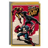 Hallmark Marvel Comics Avengers Father's Day Greeting Card, Multicolor