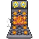 XKUN Full Body Multi-Functional Shiatsu Vibration Electric Heating Massage Mattress Pad Back Neck Massager Massage Cushion, Best