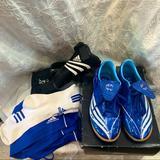 Adidas Shoes | Adidas Soccer Gear!!! | Color: Black/Blue | Size: 6