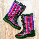 Coach Shoes   Coach Peggey Boots   Color: Purple/Red   Size: 5.5