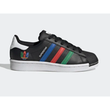 Adidas Shoes | Adidas Kids Superstar Shoes White Sneakers | Color: Black | Size: 4.5g