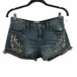 Free People Shorts | Free People Tulum Vintage Denim Cutoff Shorts 25 | Color: Blue | Size: 25