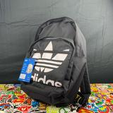 Adidas Bags   Adidas Logo Backpack -W- Multiple Pockets   Color: Black/White   Size: Os