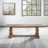 Crosley Joanna Dining Bench in Brown, Size 17.38 H x 59.75 W x 15.0 D in | Wayfair CF5023-RB