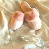 Victoria's Secret Shoes   New! Victorias Secret White Pink Slippers   Color: Pink/White   Size: Various