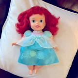 Disney Toys | Baby Ariel ! Sweet Baby Doll Soft Body! | Color: Blue/Red | Size: Osg