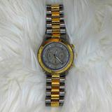Michael Kors Accessories | Michael Kors Mens Gunmetal Chronograph Watch | Color: Gold/Silver | Size: Os