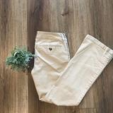 American Eagle Outfitters Pants & Jumpsuits | American Eagle Kick Boot Khakis | Color: Tan | Size: 4
