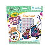 Crayola Craft Kits - Glitter Dots Galactic Key Chains Craft Set