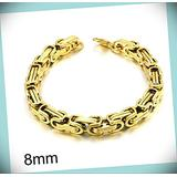 Stainless Steel Gold Plated Byzantine Statement Chunky Rhinestone Crystal Bangle Fashion Jewelry Bracelet For Women 8.7 Inches(22 Cm) 8mm Thick