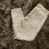 Anthropologie Jeans | Citizens Of Humanity Anthropologie Crop Jeans | Color: Cream/White | Size: 31