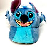 Disney Accessories | Disney Parks Lilo & Stitch Character Baseball Hat | Color: Blue/Gray | Size: One Size