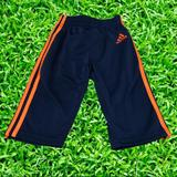 Adidas Bottoms | Adidas Blue Pants Orange Stripe Size 6m | Color: Blue/Orange | Size: 6mb