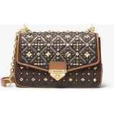 Soho Large Embellished Logo Shoulder Bag - Brown - Michael Kors Shoulder Bags