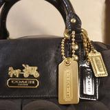 Coach Bags   Large Coach Madison Sabrina   Color: Gold/Purple   Size: 15 12 X 9 X 6