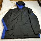 Nike Jackets & Coats   Nike Mens Puffer Jacket Coat Xl Extra Large Black   Color: Black/Blue   Size: Xl