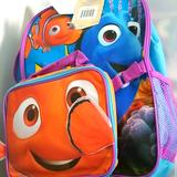 Disney Accessories | Finding Nemo Backpack | Color: Blue/Purple | Size: Osg
