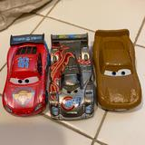 Disney Toys | Disney Car Toy Set Used For Collection | Color: Red/Silver | Size: One