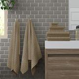 Red Barrel Studio® Alverez 6 Piece 100% Cotton Towel Set 100% Cotton in Brown, Size 3.0 H x 27.0 W in   Wayfair F1AA8769CED94F56805C5315D6A08819