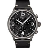 Chrono Xl 3x3 Street Basketball Leather Strap Watch - Gray - Tissot Watches