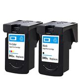 PG840 CL841 Ink Cartridge, Suitable for Canon MG3180 MX378 MG3580 Inkjet Printer Replacement Ink Cartridge Black Color Large Capacity Ink Cartridge
