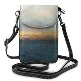 Metallic Dark Gold Printed Small Cell Phone Purse Crossbody Cell,Women For Adjustable Shoulder Strap With Card Slots