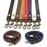 TXIN 8 Pcs Leather Bag Strap, PU Bag Adjustable Shoulder Strap, Universal Long Leather Chain Strap Replacement Belt with Metal Swivel Hooks Accessories for Crossbody Bag Purse Handbags, Multi-colored