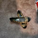 Coach Shoes   Nwt Coach Leather Animal Print Flats Size 11 M   Color: Black/Tan   Size: 11
