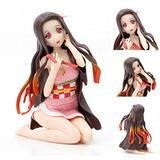 ICRPSTU Action Figures,Nezuko Action Figure Model,Japanese Anime Figures Model,Anime Action Figures Nezuko Figure Collection Model Toy Gifts for Kids Adult Anime Fan