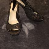 Nine West Shoes   Nine West Peep Toe Kitten Heel   Color: Black   Size: 6 M