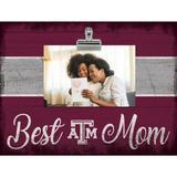 """""""Texas A&M Aggies 10.5'' x 8'' Best Mom Clip Frame"""""""