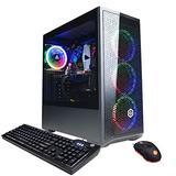 CYBERPOWERPC Gamer Xtreme VR Gaming PC, Intel Core i5 11400F 2.6GHz, AMD Radeon RX 6700 XT 12GB, 16GB DDR4, 500GB NVMe SSD, 1TB HDD, WiFi Ready & Windows 10 Home (GXiVR8480A9, Black)