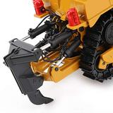 Construction Bulldozer Toy Metal Diecast Bulldozer 1/50 Safety for Over 8 Years Old Children for Improve Hand Eye Coordination