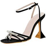 Women's Heeled Sandals,Women's High Stiletto Open Toe Ankle Strap Heels Dress Pump Heel Sandals Bow Sandals Shoes