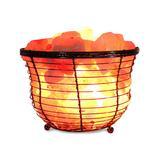 Himalayan Shop Salt Lamps Pink - Himalayan Shop Salt Lamp Basket