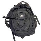 Adidas Bags | Adidas Black Canvas Heavy Duty Backpack | Color: Black | Size: Os